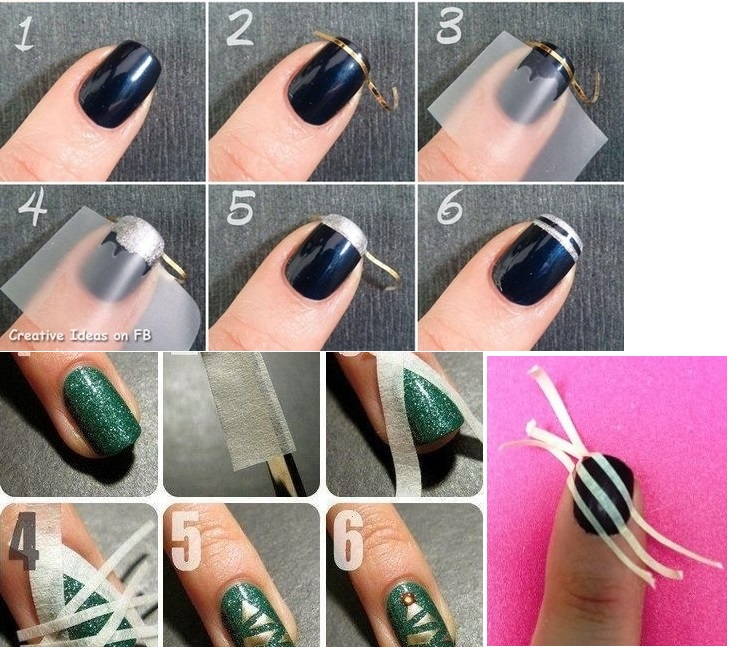 "10 Super-easy Nail Art Hacks that will Make You Go ""WOW!"""
