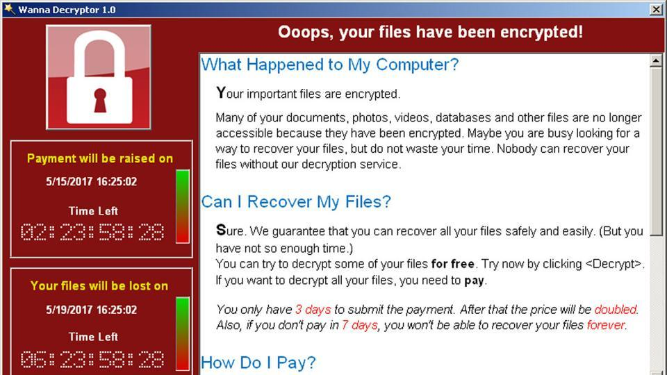 wannacry ransomware attack - safe to shop online