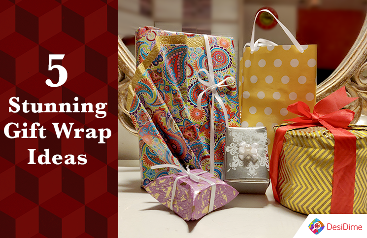 5 Stunning Gift Wrap Ideas For Diwali And Other Special Occasions