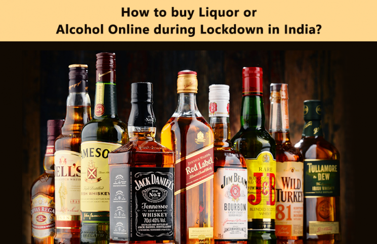 How to buy Liquor or Alcohol Online during Lockdown in India?